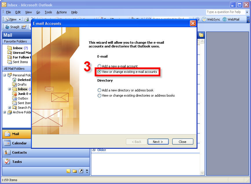Microsoft Office Outlook Setup for Existing Qwestoffice net